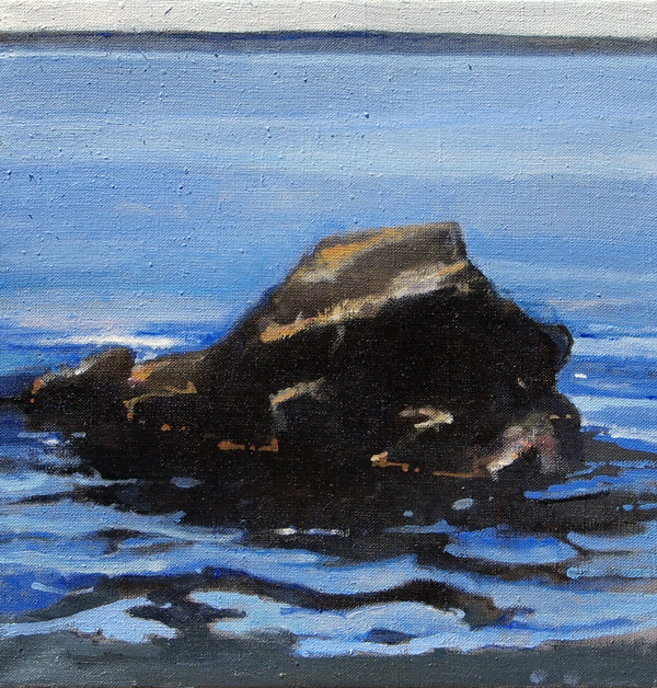 Otter Point, oil on linen, 12 x 12 inches